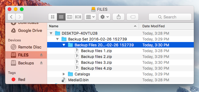 How to Restore Files From a Windows Backup on a Mac