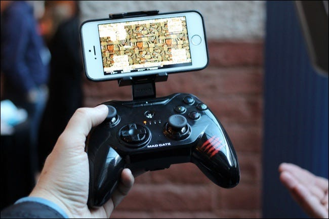 iphone game controller with mount