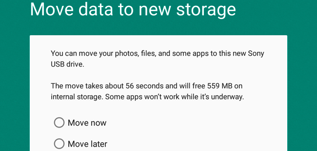 how to clean up internal android storage