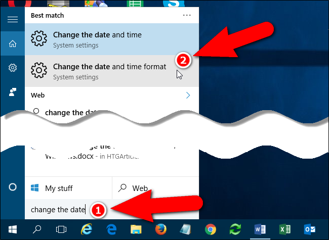 How to Change the Format of Dates and Times in Windows 10