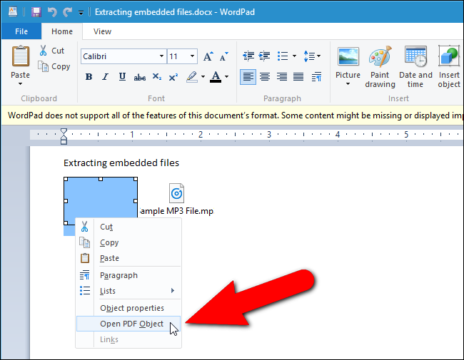 How to Extract Images, Text, and Embedded Files from Word