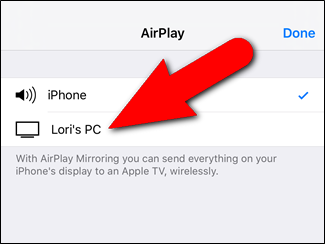 How to Mirror Your iPhone or iPad's Screen on Your Windows