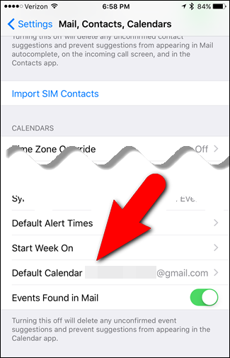 How to Set the Default Calendar for New Appointments in iOS and OS X - Image 4