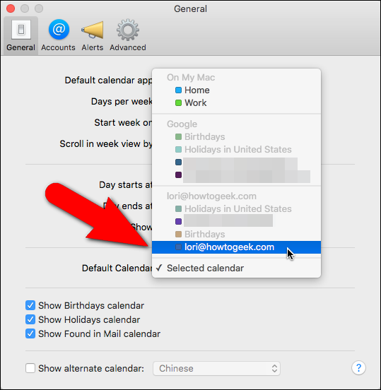 How to Set the Default Calendar for New Appointments in iOS and OS X - Image 11