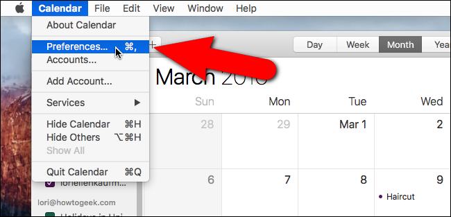 How to Set the Default Calendar for New Appointments in iOS and OS X - Image 9