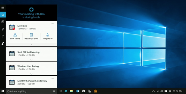 What's New in Windows 10's Anniversary Update, Coming This
