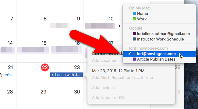 How to Set the Default Calendar for New Appointments in iOS and OS X - Image 17