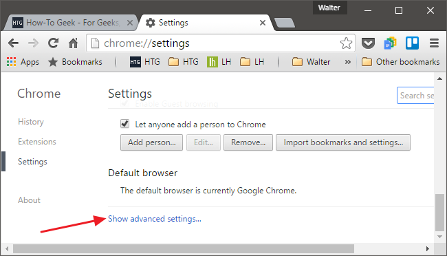 Chrome_show advanced