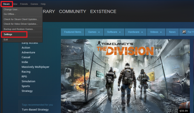 how to start steam broadcast