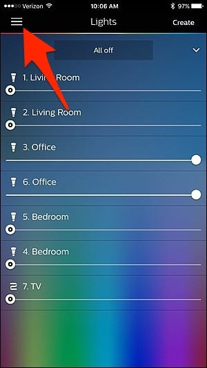 how to set up philips hue