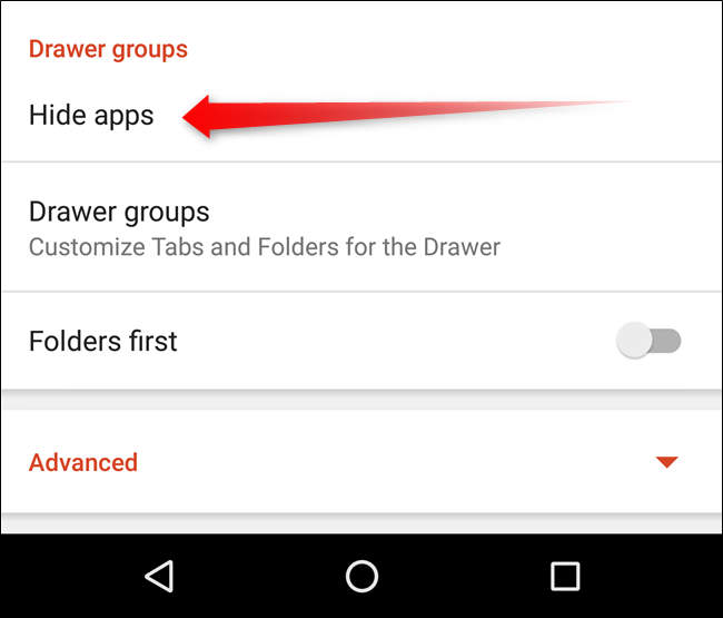 How to Hide Apps from Android's App Drawer with Nova Launcher