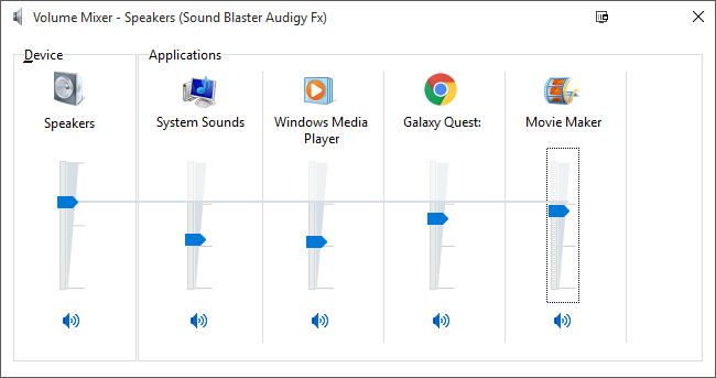 How to adjust the volume for individual apps in windows volume mixer ccuart Choice Image