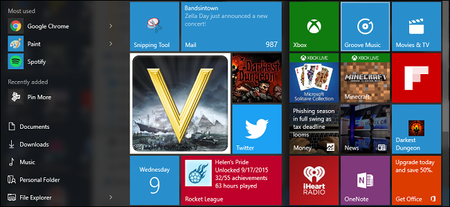 How to create custom start menu tiles for your pc games in for How to design windows