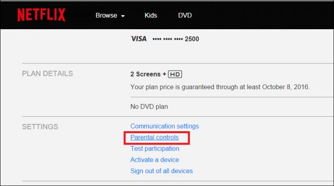 how to change netflix password on smart tv