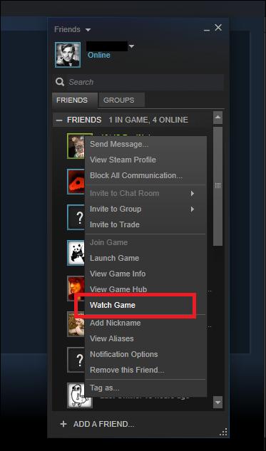 كيف تبث ألعابك على الإنترنت مع Steam