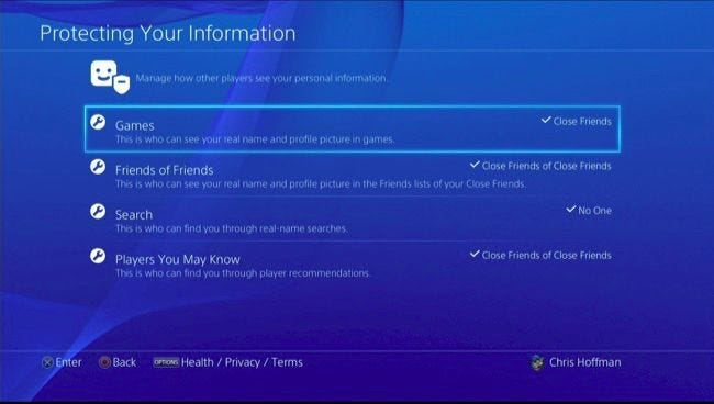 How to Customize Your PlayStation 4's Privacy Settings