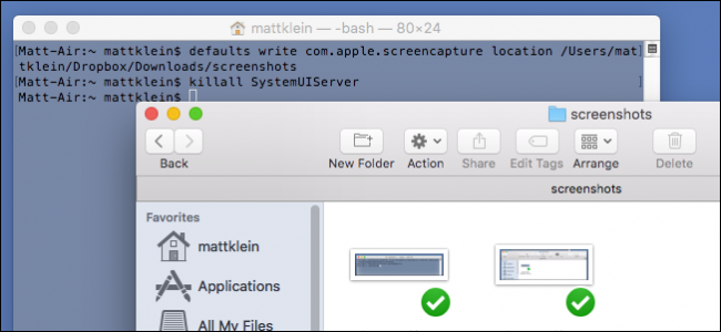 How To Change Where Screenshots Are Saved In Os X