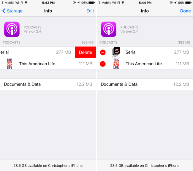 How to Free Up Space Used By the Podcasts App on Your iPhone