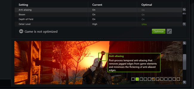 nvidia geforce experience wont find games