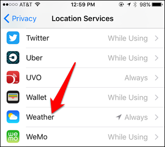 How to Make the iPhone Weather App Update on a Mobile Connection