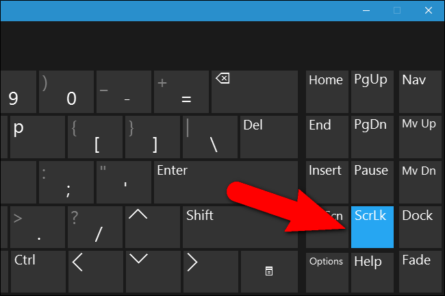 how to turn off number lock on dell keyboard