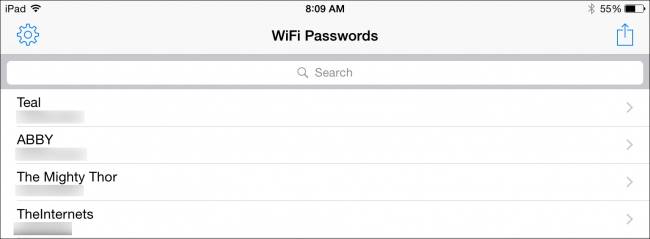 how to find your wifi passwrod