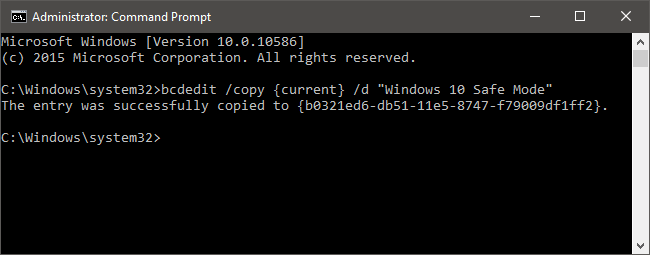 how to add attributes to a command prompt shortcut