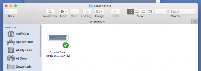 how to change default location of screenshots on mac
