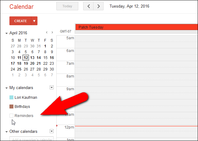 How to Remove the New Reminders in Google Calendar