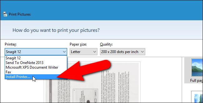 10_selecting_install_printer