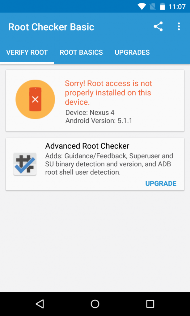 unroot a Nexus or Other Developer device on Lollipop or before versions