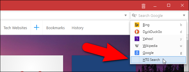 how to get the pulldown menu is firefox browser