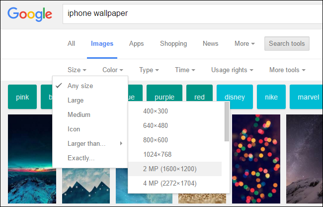 how to do a google image search on ipad