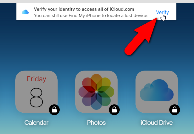 how to get into my icloud account