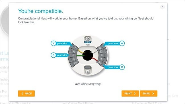 how to install and set up the nest thermostat rh howtogeek com Nest Thermostat Heat Pump Wiring Diagram Nest Thermostat Wiring Diagram