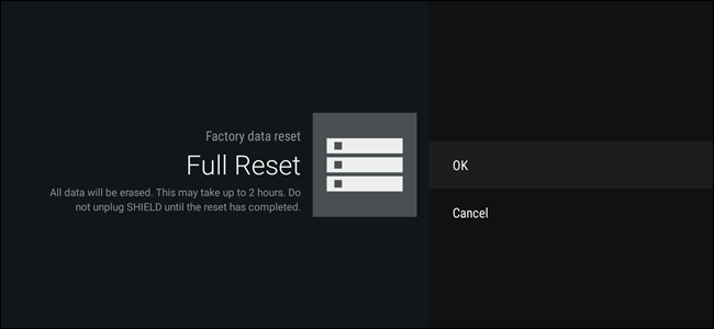 How to Factory Reset Your Android TV