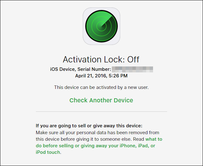 How to Check the Activation Lock Status of an iOS Device