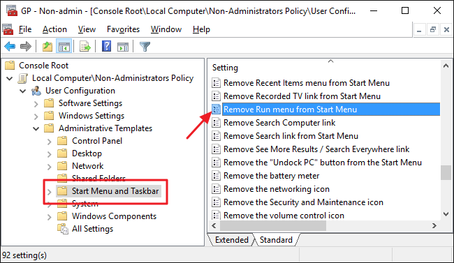 """How to Disable the Command Prompt and """"Run"""" Program in"""
