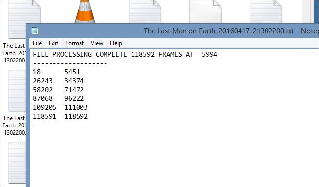comskip-txt-file