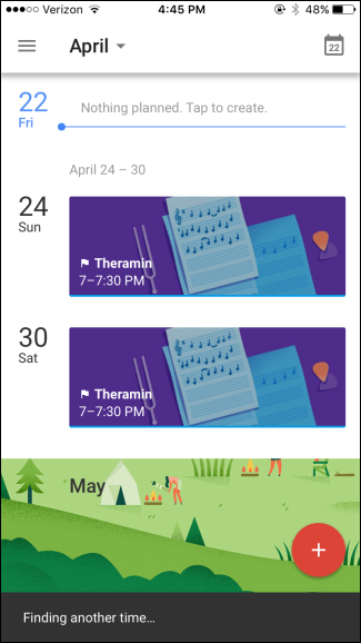 how to set up google calendar on android