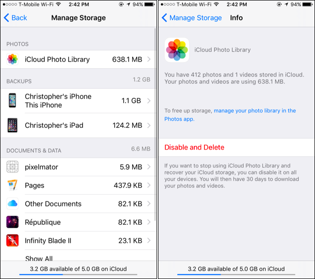 how to backup icloud on iphone 6 how to save space in your icloud backup and avoid paying 9084