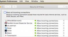 How to Allow Apps to Communicate Through Your Mac's Firewall