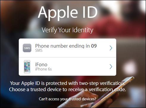 apple id change phone number