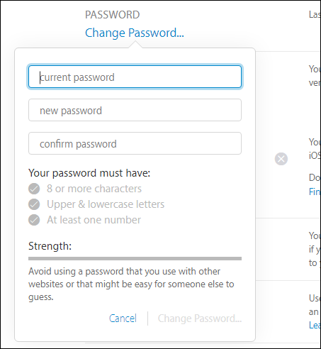 How to Change Your Apple ID Password - Tips general news