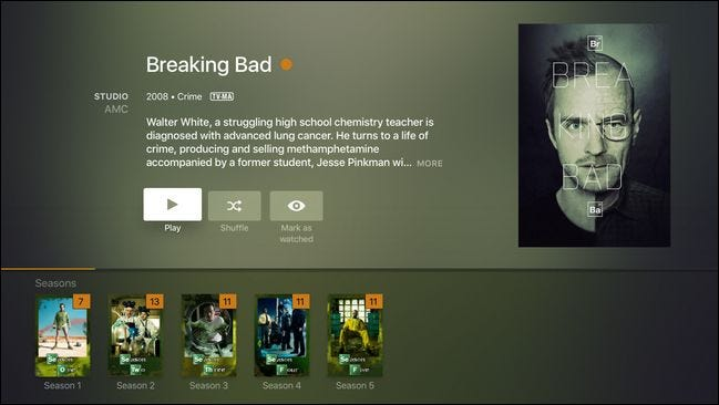 Plex Apple TV App