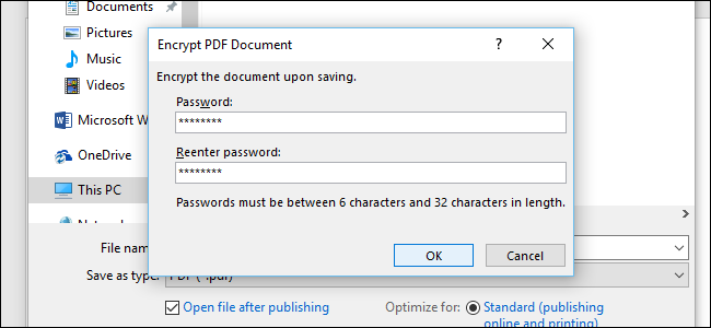 how do i password protect microsoft word documents