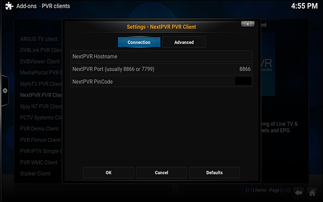 nextpvr-kodi-configure-addon-settings