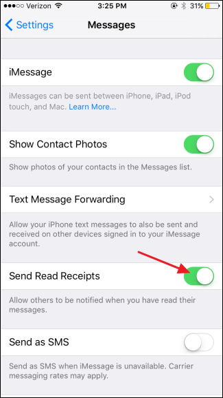How to Prevent People from Knowing You\u0027ve Read Their iMessage
