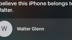 How to Find a Lost iPhone's Owner by Asking Siri