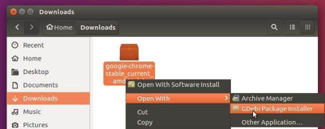 gdebi ubuntu